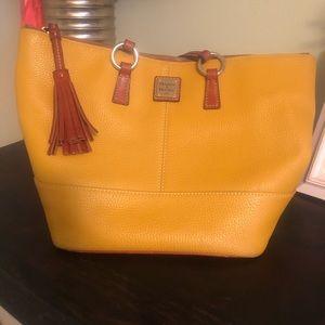 Yellow Dooney & Bourke purse